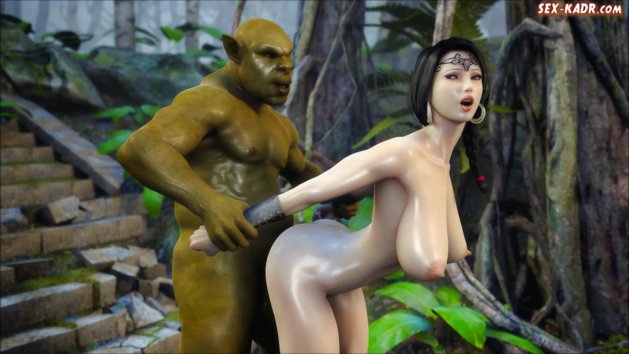 Hentai princess screwed orcs hardcore pic